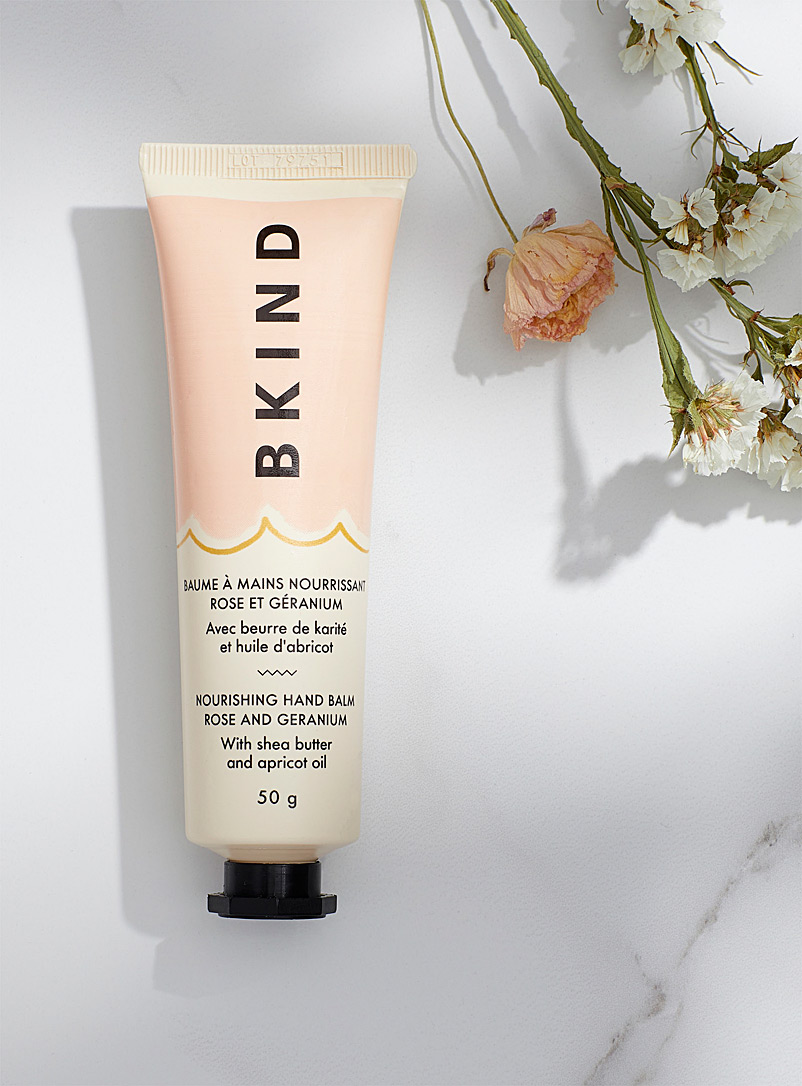 BKIND Dusky Pink Rose and geranium nourishing hand balm