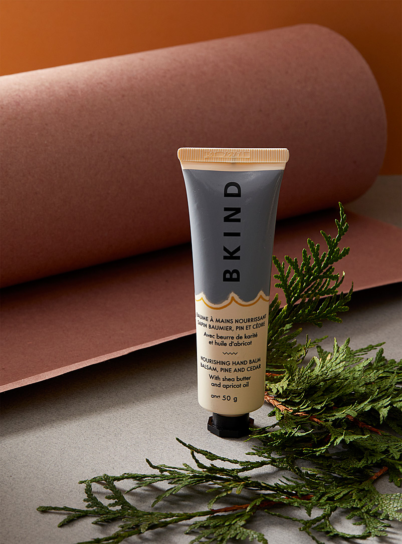 BKIND Grey Balsam, pine and cedar nourishing hand balm
