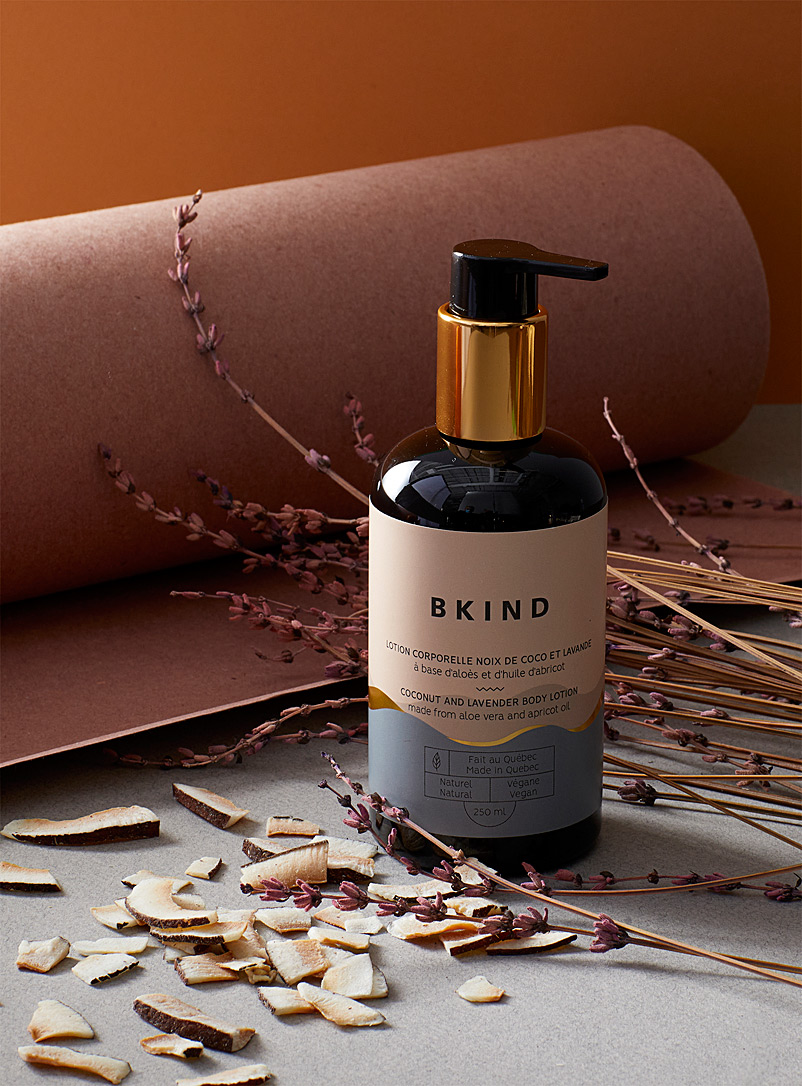 BKIND Grey Coconut and lavender body lotion