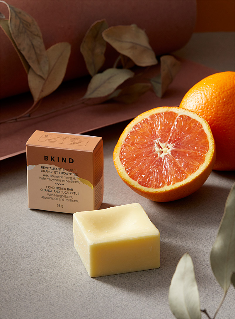 BKIND Assorted Orange and eucalyptus conditioner bar