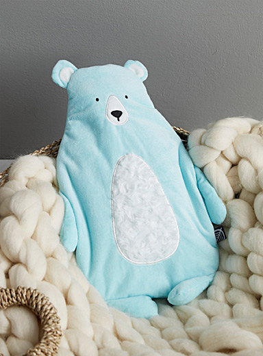 Cuddly bear hot-water bottle