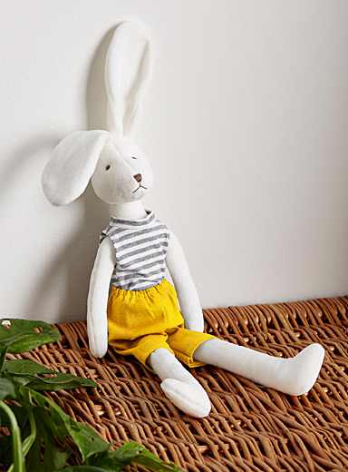 Tall rabbit stuffed toy