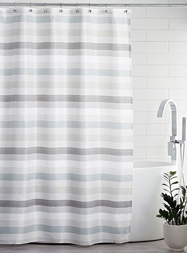 Ocean horizon shower curtain