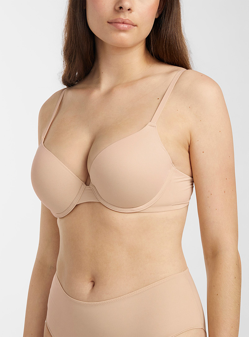 Miiyu Black Neutral Cléa push-up bra for women