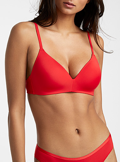 Vela colored wireless bra