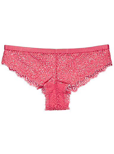 Lovely lace Brazilian panty