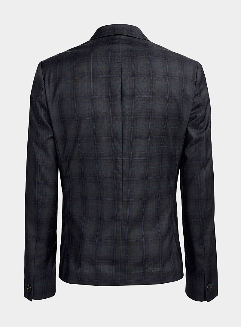 PS Paul Smith Mossy Green Shadow check jacket for men