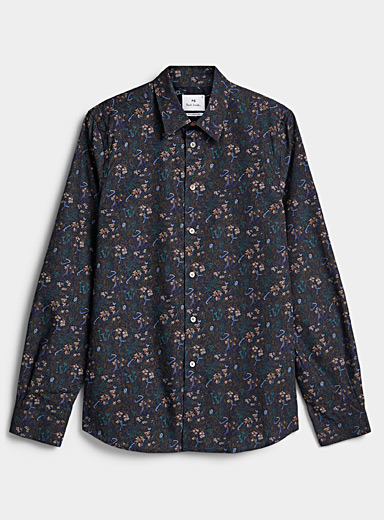 PS Paul Smith Patterned Blue Night forest dress for men
