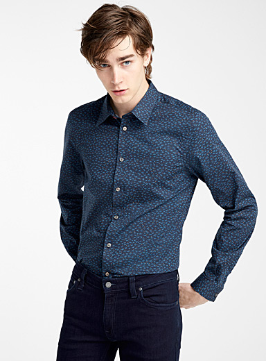 Mini-pattern shirt