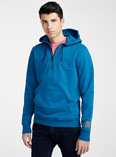 PS Paul Smith Light Brown Half zip hoodie for men