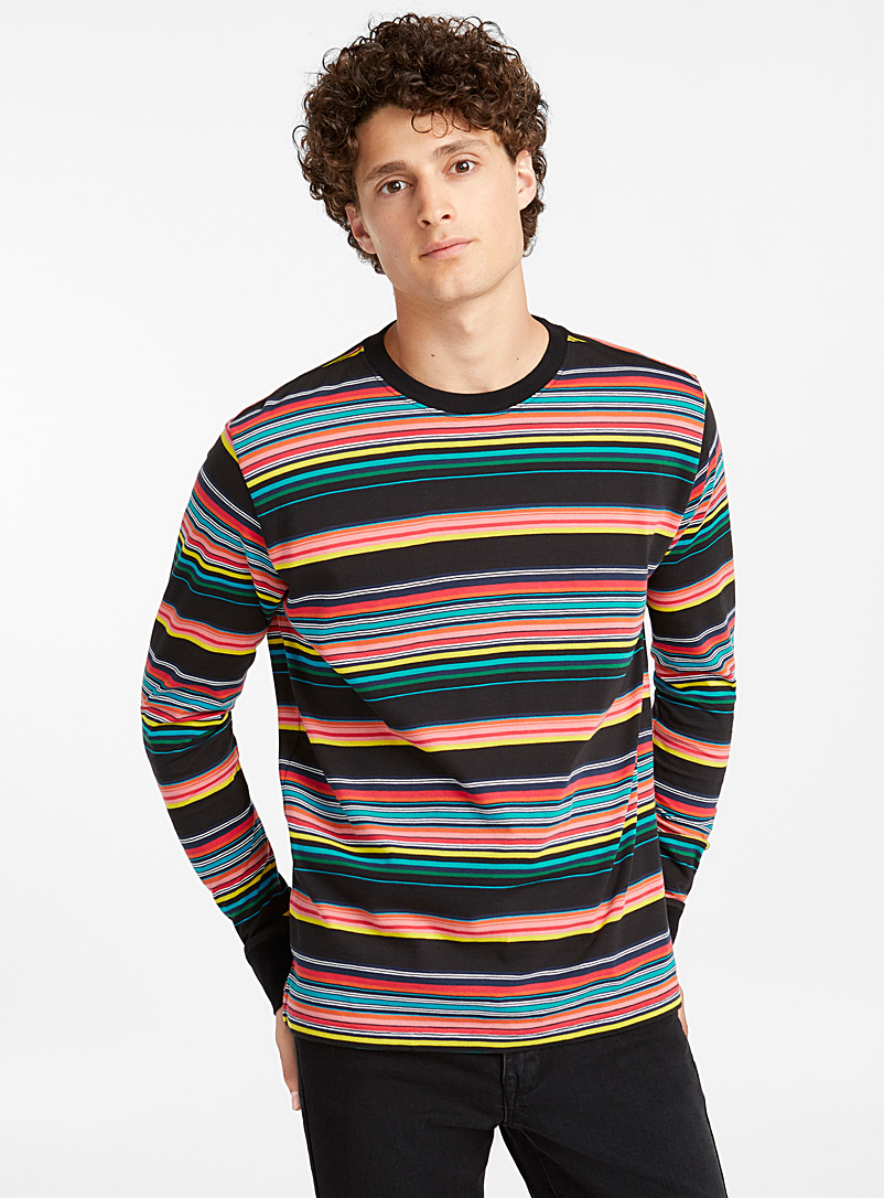 Striped long-sleeve T-shirt - PS Paul Smith - Assorted