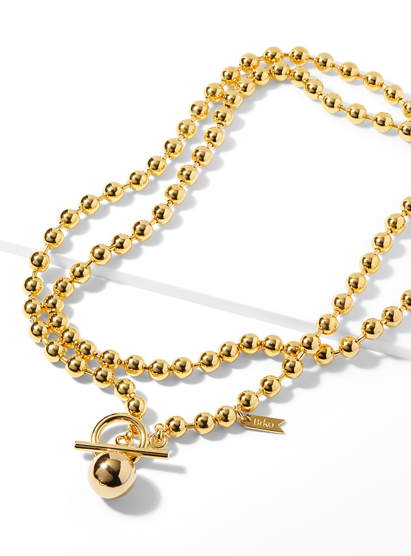 Infinite ball link necklace - Necklaces