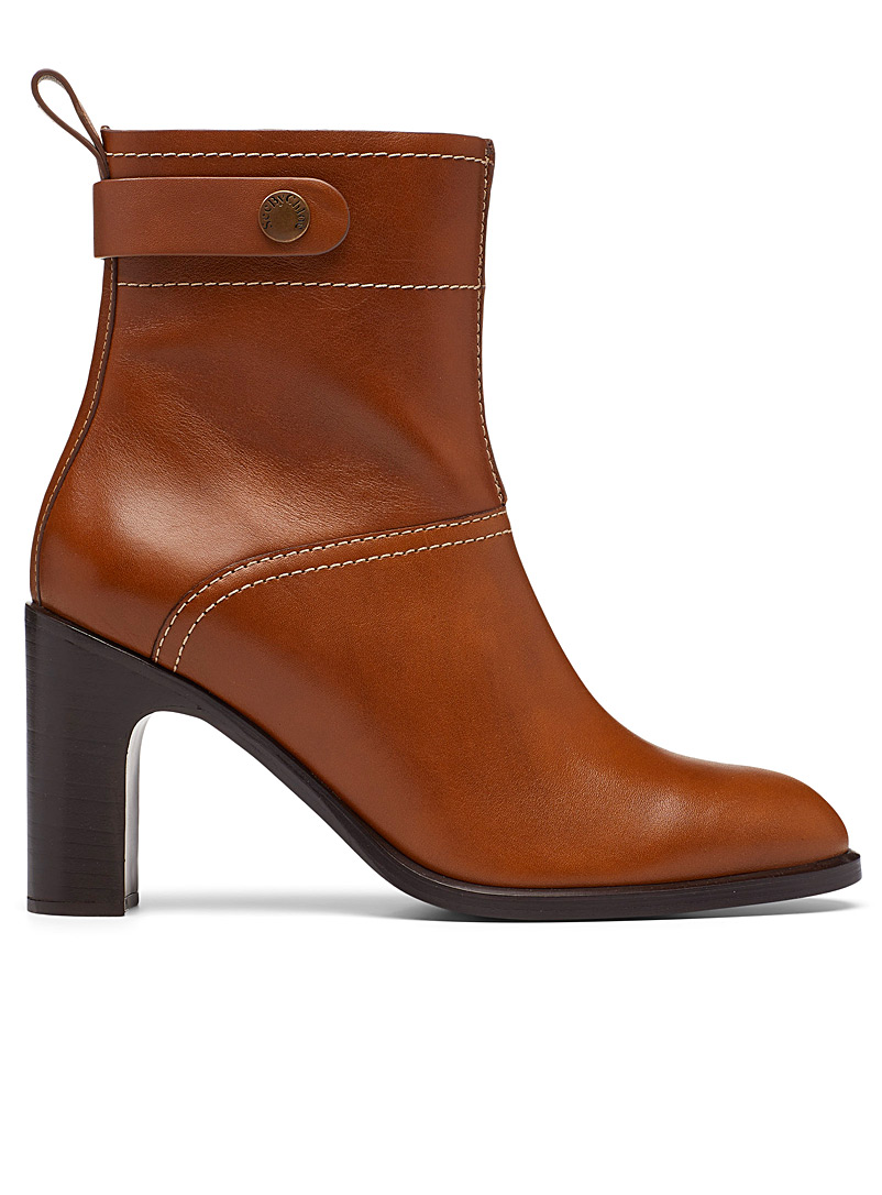 See by Chloé Ecru/Linen Annia ankle boots for women