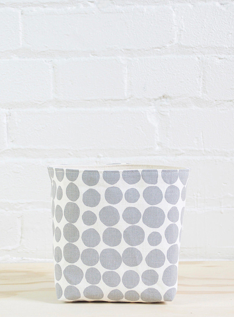 All-out chic large basket - Smith Made - Grey