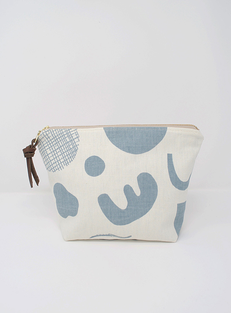 Smith Made Baby Blue Afloat zipper pouch
