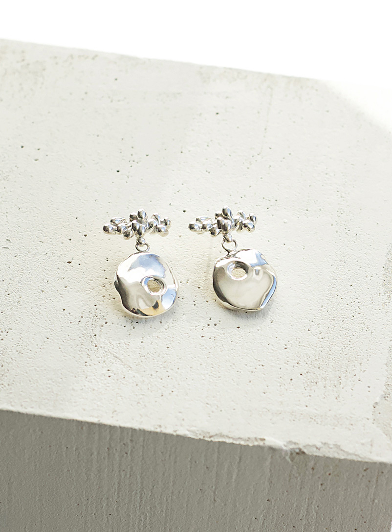 Anne Dahl Silver Feast earrings