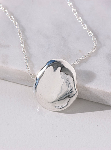 Anne Dahl Silver The Formless necklace
