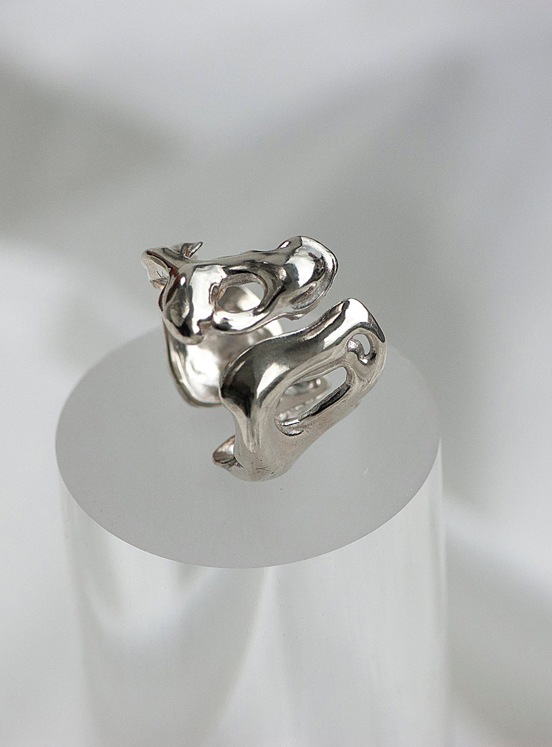 The Temporal ring - Anne Dahl - Silver