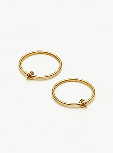 Camillette Assorted Prélude sleeper hoop earrings