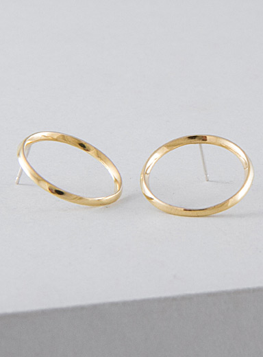 Camillette Assorted Flat hoop earrings
