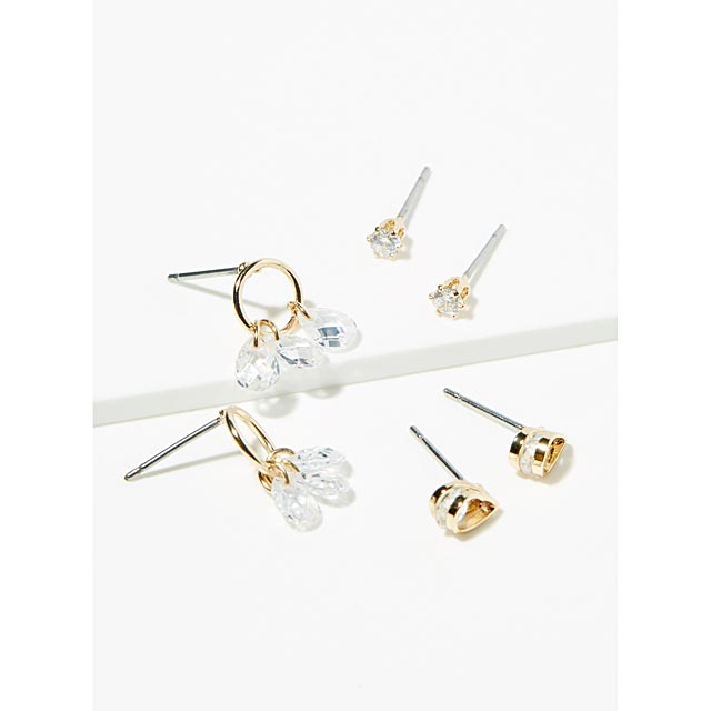 crystal-tears-earrings-set-of-3-pairs