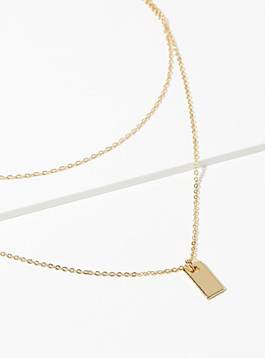 Minimalist chic necklace