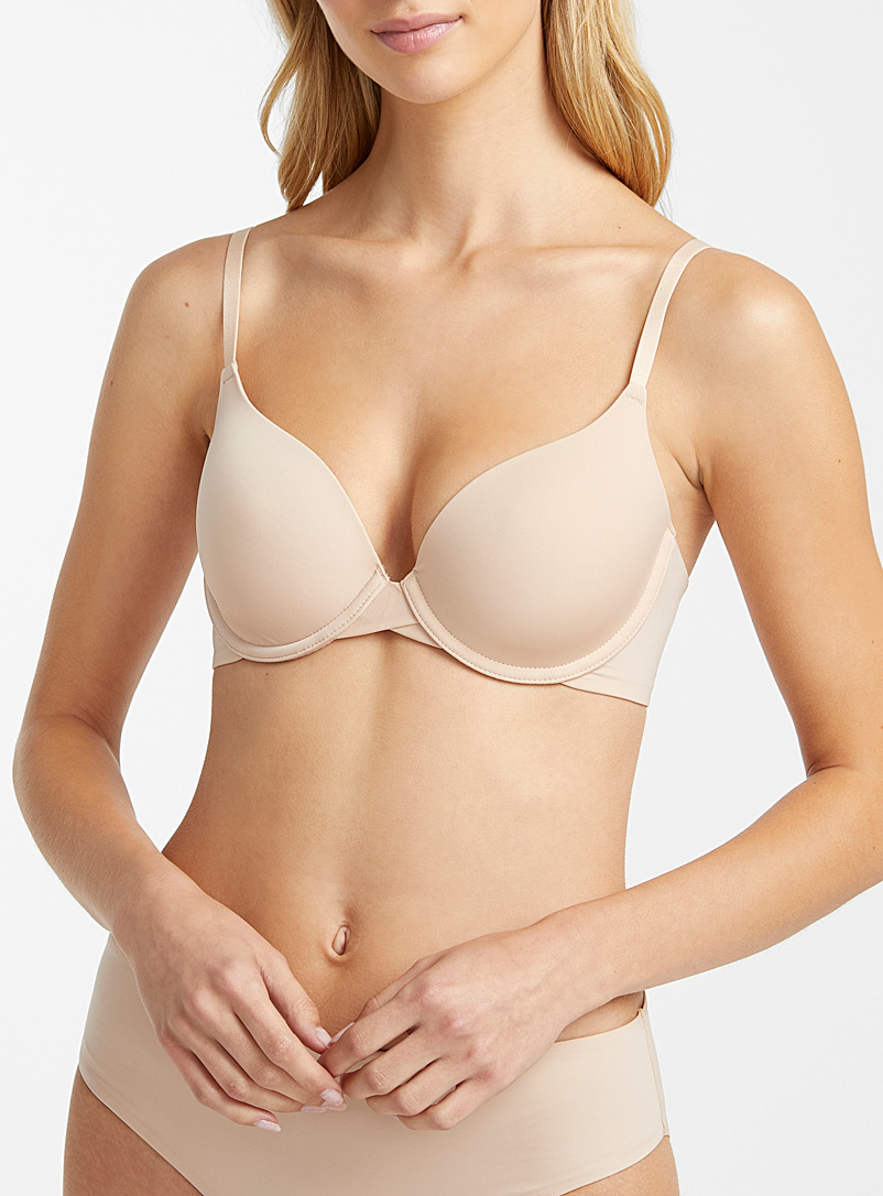 Miiyu Tan Hydra essential plunge bra for women