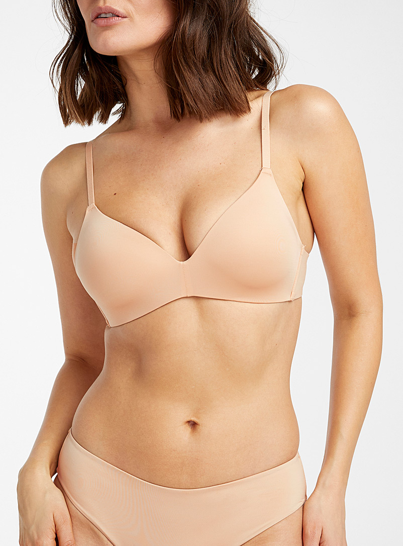 Miiyu Tan Essential Vela wireless bra for women