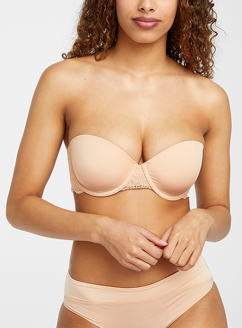 Céleste lace accent convertible bra