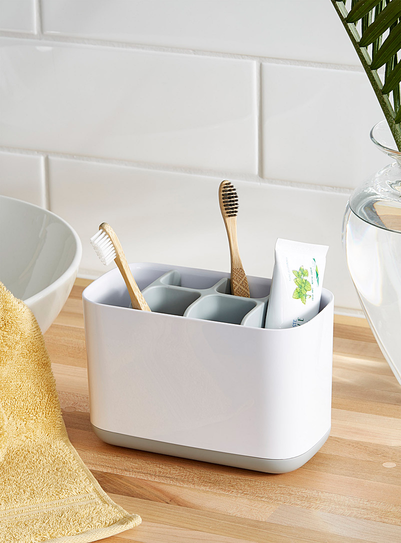 Large modern toothbrush holder