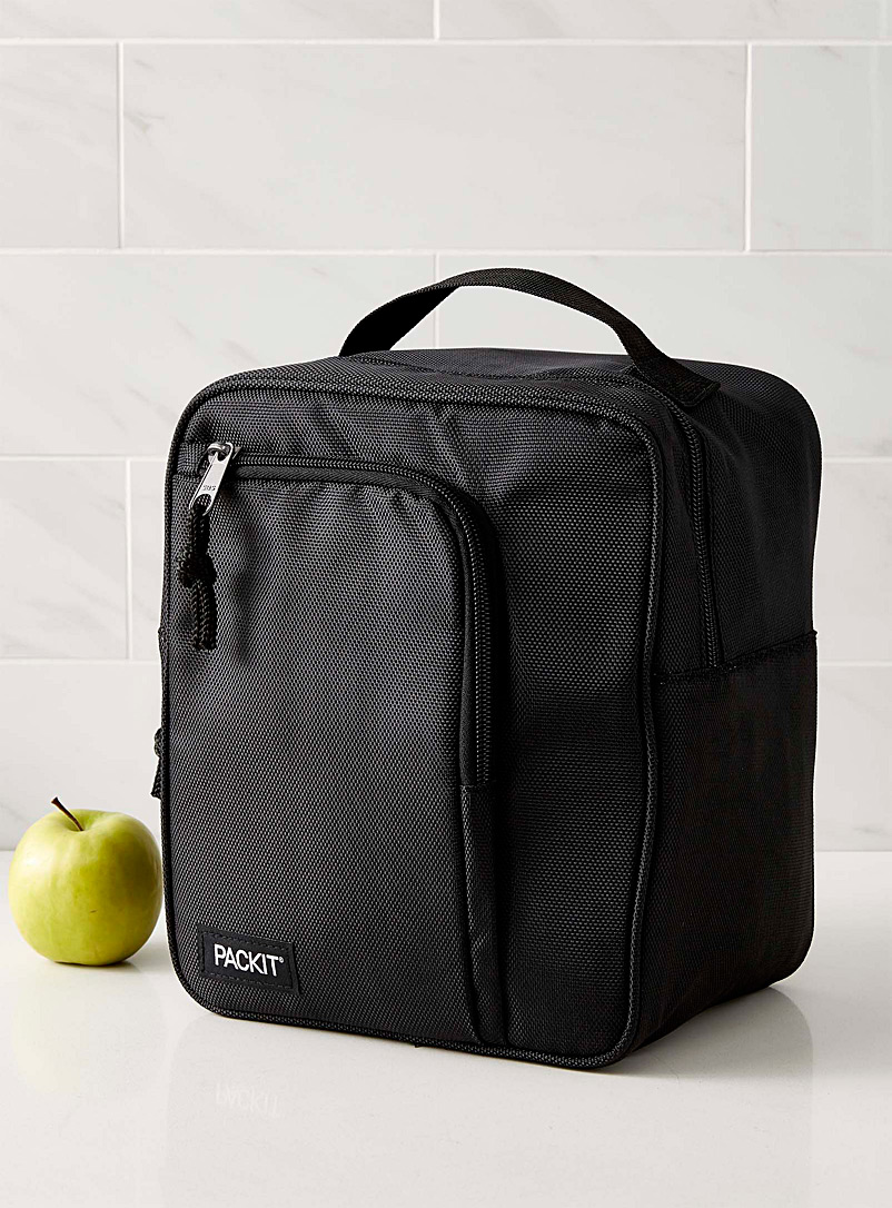 Simons Maison Black Freezable commuter lunch bag