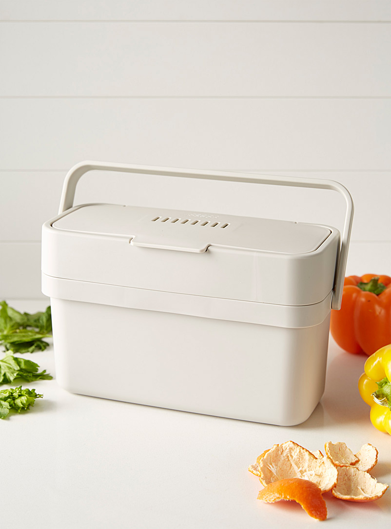 Smart compost bin - Useful & Chic Extras - Ivory White