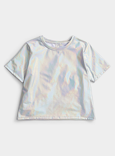 Le t-shirt ample iridescent