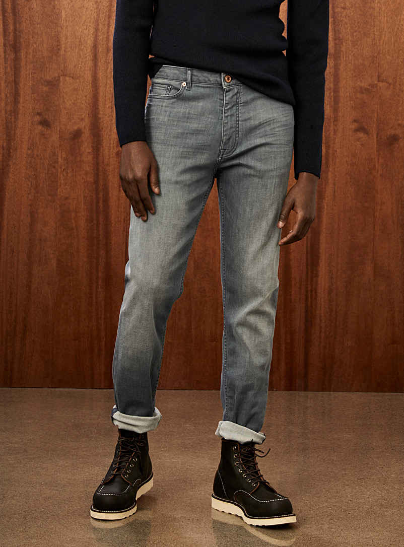 Grey blue jean  Stockholm fit-Slim