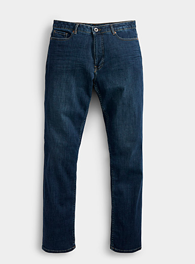 Green tinted indigo jean  Stockholm fit-Slim