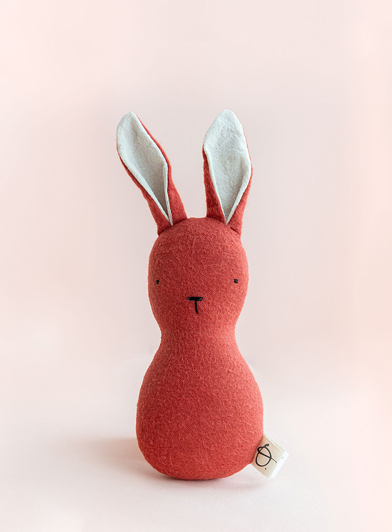 Ouistitine Assorted Bunny rattle