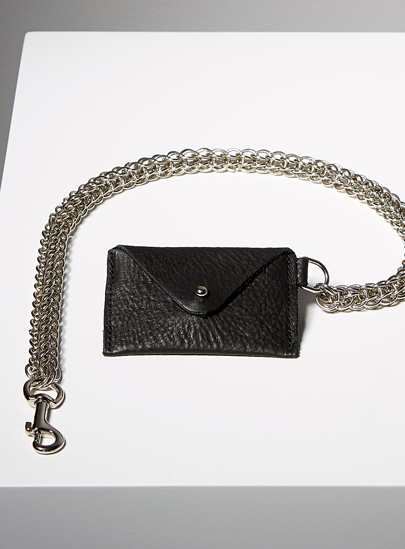 Sonya Lee Black Chain Stephanie wallet