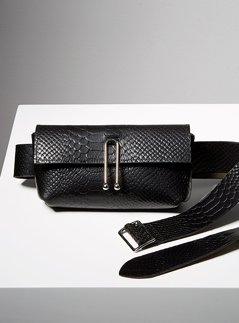 Half Jess belt bag - Sonya Lee - Black