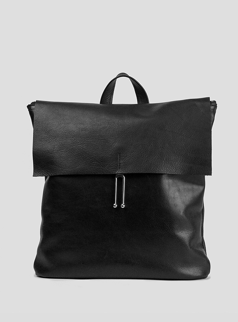 Sonya Lee Black Rosa backpack