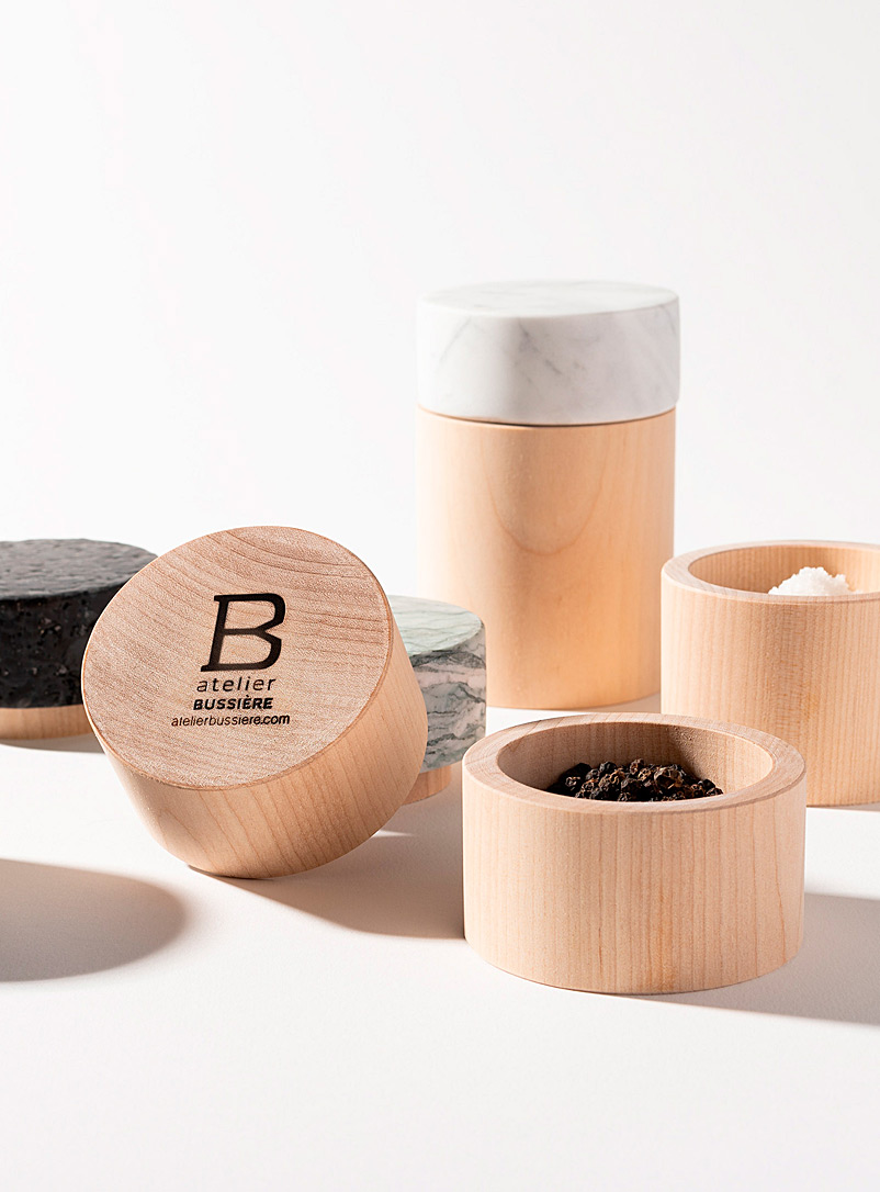 Atelier Bussière Black Fogo small pot