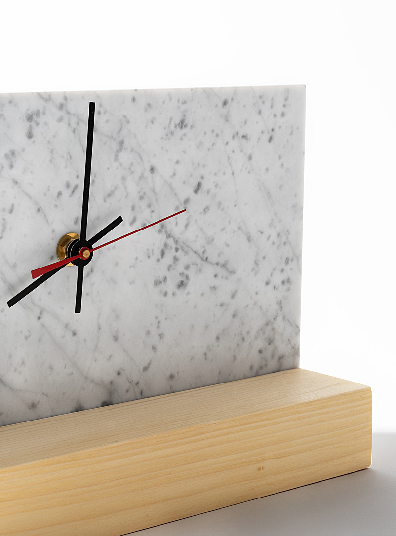 Atelier Bussière Black Eternity clock