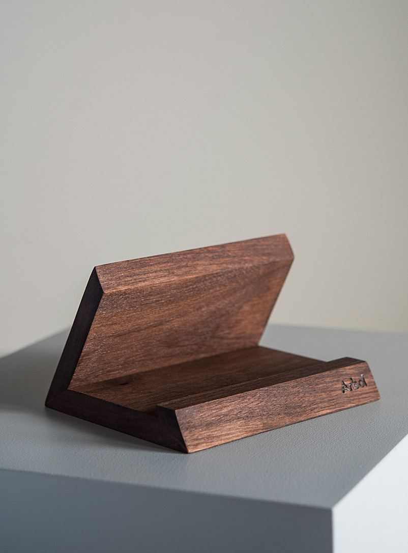Tablet holder - Arbol - Black Walnut