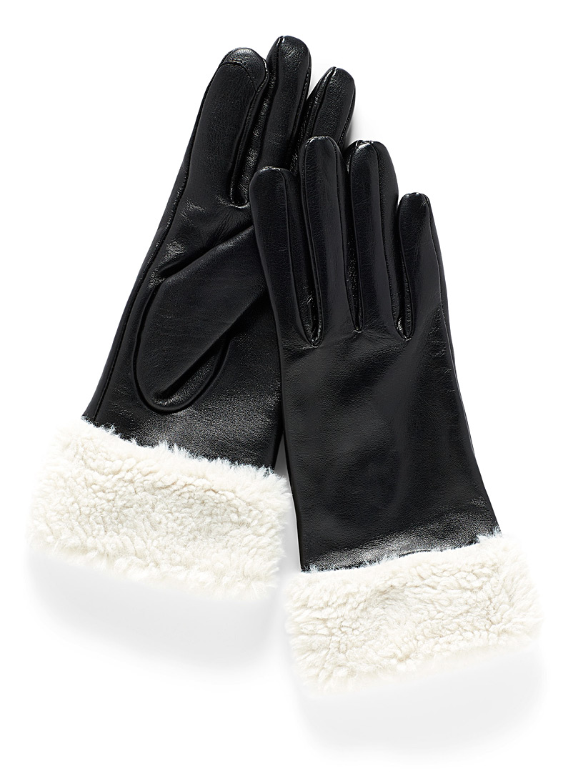 sherpa-leather-gloves