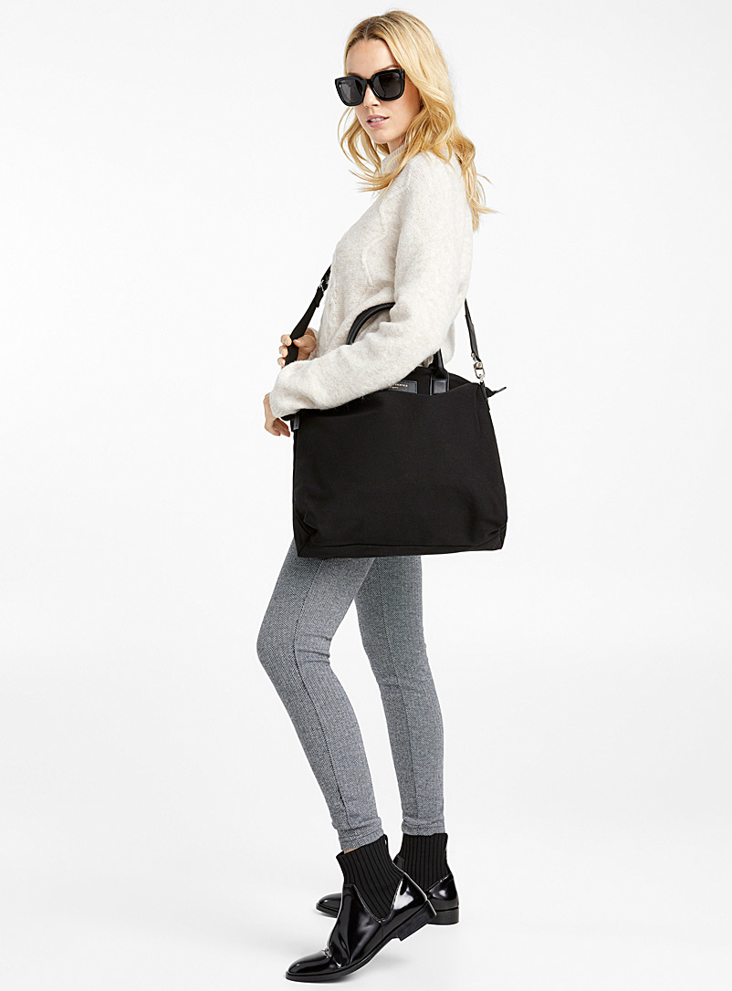 WANT Les Essentiels Black Ohare shopper tote for women