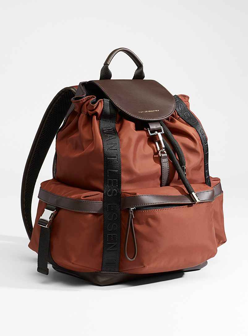 WANT Les Essentiels Copper Avalon nylon backpack for women