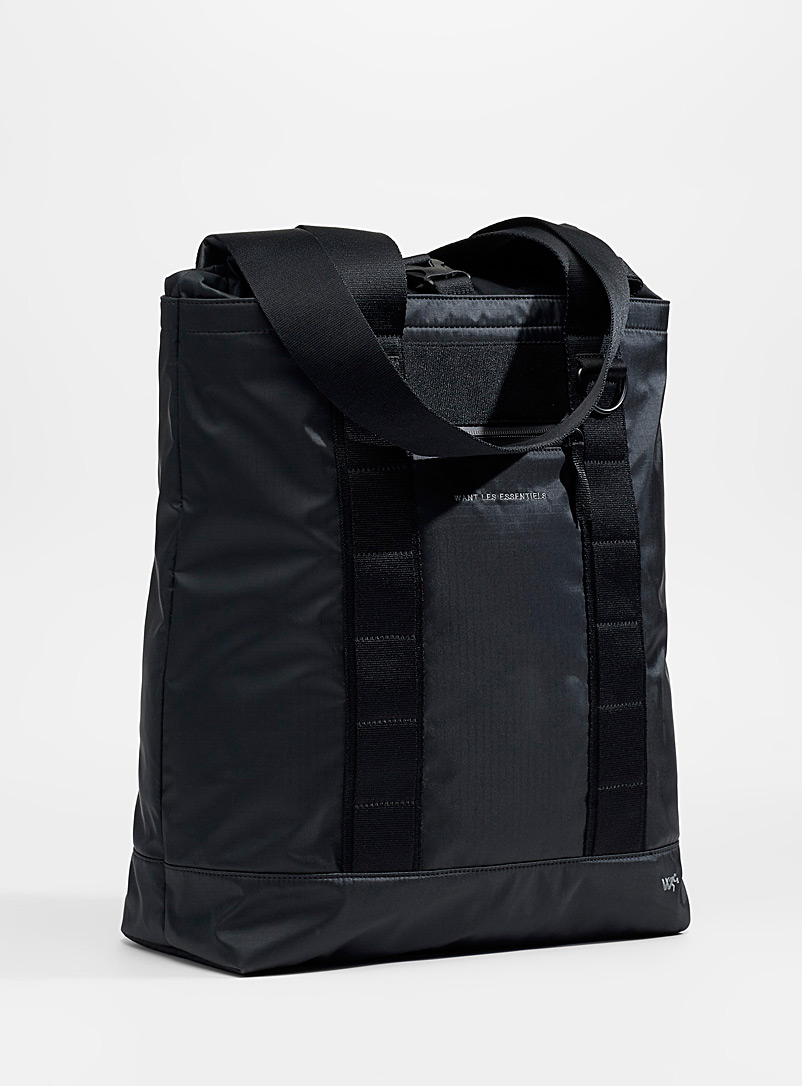 WANT Les Essentiels Black Havel tote for women