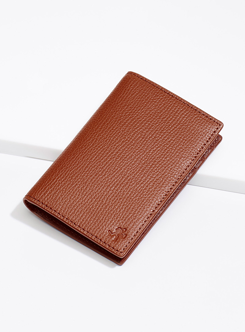 WANT Les Essentiels Brown Lynden wallet for women