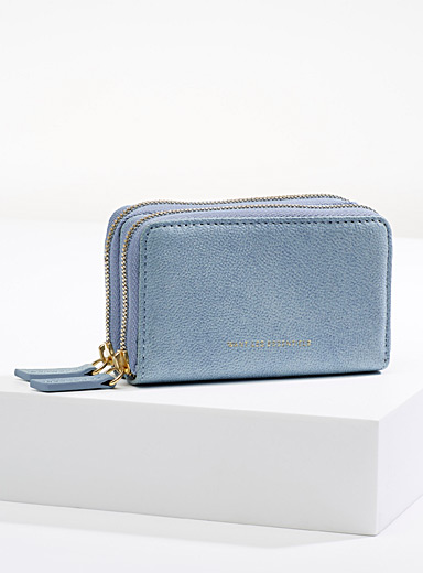 WANT Les Essentiels Teal Petra mini wallet for women