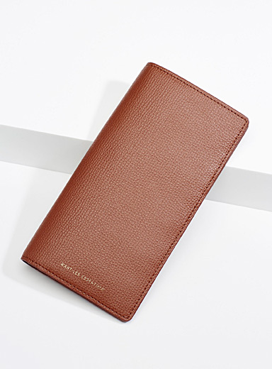 WANT Les Essentiels Brown Fleming wallet for women