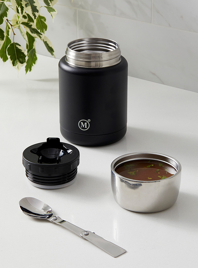 Minimal Black Classic lunch on the run insulated jar